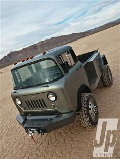 jeep Forward Control Fc 170 Pug Nose drivers Side Front Three Quarter Photo 44685469