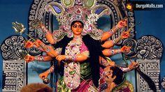 DurgaPuja Pictures from the past Saraswati Goddess, Durga Maa, Durga Puja 2017, Mata Rani, Durga Images, Amman, Ganesha, Om, The Past