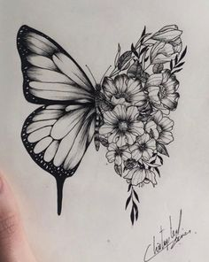 butterfly tattoos with words Disney Tattoos - Butterfly tattoos with words – schmetterling tätowierungen mit worten - Monarch Butterfly Tattoo, Simple Butterfly Tattoo, Butterfly Tattoo Meaning, Butterfly Drawing, Butterfly Tattoo Designs, Vintage Butterfly Tattoo, Realistic Butterfly Tattoo, Blue Butterfly, Word Tattoos