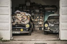 Barnfind of the century revealed in France | Classic and Sports Car