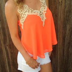 too cute, maybe in coral tho, im too pale white for oranges