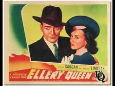"Ellery Queen -  ""Green Gorillas""  02/12/47 (HQ) Old Time Radio Detective"
