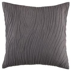 Land of Nod Faux Bois Throw Pillow: This faux woodgrain pillow is subtle with a hint of quirk. $26 on sale