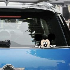 Home Decoration Cheap Ideas Product Bob Marley Painting, Cute Mickey Mouse, Mouse Color, Car Head, Car Accessories Diy, Patterned Vinyl, Car Humor, Disney Cars, Car Stickers