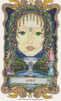 ☆ Venus » Fr0m: The Faces of WomanSpirit A Celtic Oracle of Avalon :¦: By Katherine Torres, Ph.D. ☆