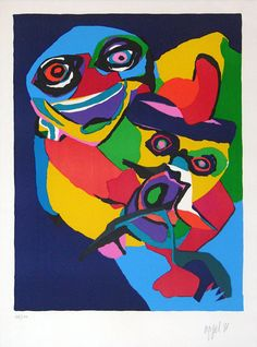 Karel Appel Untitled Figure