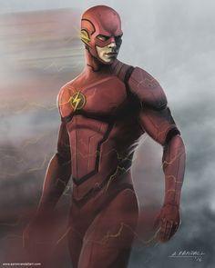 The Flash fan art illustration