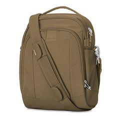 Women's Shoulder Bags - Pacsafe Metrosafe LS250 AntiTheft Shoulder Bag Sandstone *** To view further for this item, visit the image link.