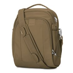 Women's Shoulder Bags - Pacsafe Metrosafe LS250 AntiTheft Shoulder Bag Sandstone >>> Check this awesome product by going to the link at the image.