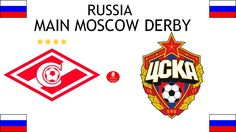 1922, Russia (1st MAIN MOSCOW DERBY ), FC Spartak Moscow < > PFC CSKA Moscow #SpartakMoscow #CSKAMoscow #Russia (L6616) Fc Spartak Moscow, Sports Logos, Football Match, Derby, Russia, Logo Design