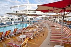 Sit back and enjoy the #sun onboard #AllureoftheSeas
