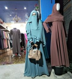 A collection of niqab pictures Muslim Dress, Hijab Dress, Hijab Outfit, Islamic Fashion, Muslim Fashion, Niqab Fashion, Fashion Outfits, Conservative Fashion, Muslim Beauty