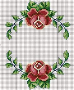 Cross stitch flowers: 45 Models, Graphic and Step-by-step Cross stitch flowers: 45 Models, Graphic and Step-by-step <!-- Begin Yuzo --><!-- without result -->Related Post 'The Eagle' Art Print on Wrapped Canvas Ea. Cross Stitch Borders, Cross Stitch Rose, Cross Stitch Flowers, Cross Stitch Charts, Cross Stitch Designs, Cross Stitching, Cross Stitch Embroidery, Hand Embroidery, Cross Stitch Patterns