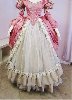 It looks like Ariel's pink dress!