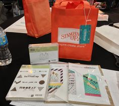 A full evening of Make and Takes with almost 1000 demonstrators at Stampin' Up!'s Leadership 2014 in Houston, TX