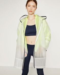 Image 1 of RAINCOAT from Zara