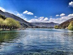 Godiamoci questa rilassante veduta dell'incantevole lago di Scanno. Foto Gianluca Vidone