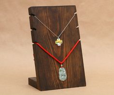 3 Necklace Wooden Necklace Display Board / Necklace by USAVECO