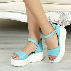 Flat Wedge Heels | Tsaa Heel