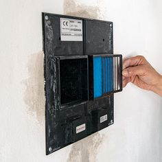 Dezentrales Lüftungsgerät selbst installieren - eine Anleitung #Lüftung #Lüftungsgerät #Lüftungsanlage