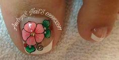 Toe Nail Art, Toe Nails, Toe Nail Designs, Pretty Nails, Toenails, Flower Nails, Little Princess, Stickers, Long Nail Art