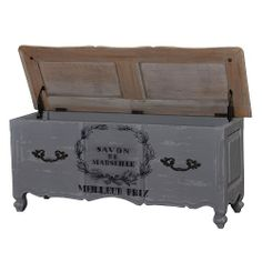 french country blanket chest | Provence Blanket Chest (BRA24588) .