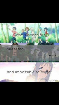 Ótimos amigos são difíceis de encontrar difícil de sair, e impossível esquecer