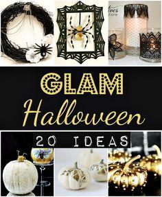Glam Halloween Decorations