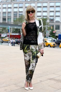 Streetstyle from New York Tropical Suit