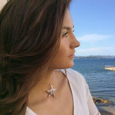Our Starfish Talisman Choker necklace is the perfect accessory for seaside daydreaming!