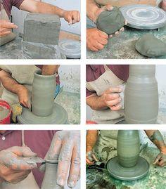 lavorare l argilla, lavorare argilla, lavorazione argilla, come lavorare l'argilla, lavorare l'argilla, argilla, modellare la ceramica, ceramica,