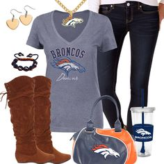 Denver Broncos Fashion - Trendy Chill Broncos Fan