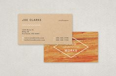 Carpenter business card template pinterest card templates carpenters textured business card template this design features two materials that embody the construction and woodworking industries flashek