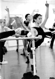 Polina Semionova in class