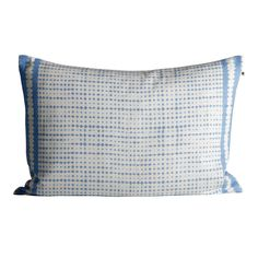 e7c21443dd28 Tine K Home - Blue Tie-Dye Cushion - Blue