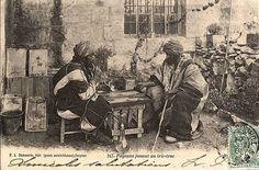 Tavla oynayanlar 1900'ler İzmir