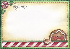 Laurie Furnell - Christmas Recipe (printable)
