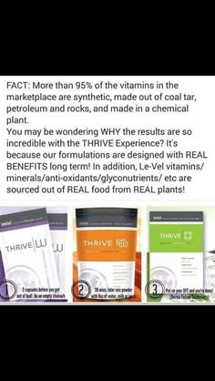 Interested? Curious? Skeptical? See what the Thrive Experience is all about! Create a free account-no spam/no obligations! Go to reedbrandi03.le-vel.com watch the short video, sign up for your free customer account, then go to the Le-vel Facebook page and read some testimonies. Contact me chaehn6@gmail.com go to chaehn.le-vel.com