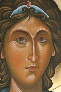 Religious Icons, Religious Art, Archangel Michael, Art Icon, Catholic, Images, Pastel, Princess Zelda, Christian