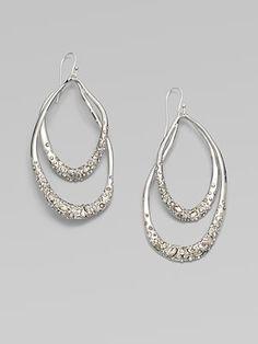 Alexis Bittar Double Loop Drop Earrings