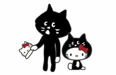 Hello Kitty x Nya Sanrio, Hello Kitty Vans, Twin Sisters, Peppa Pig, I Am Awesome, Minnie Mouse, Disney Characters, Fictional Characters, My Favorite Things