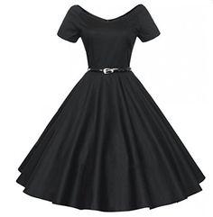 Padgene Robe De Bal Style Années 50 Vintage Clarity 'Audrey' Pastel Rockabilly Femme (noir,S) Padgene http://www.amazon.fr/dp/B01532AM84/ref=cm_sw_r_pi_dp_rK0zwb0BQ4365