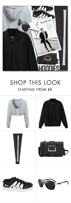 """""""hoodies"""" by meyli-meyli ❤ liked on Polyvore featuring Knitss, StreetStyle, streetwear and gamiss"""