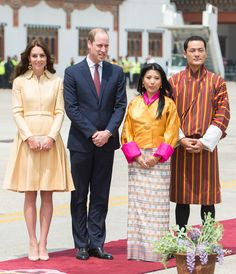 Kate Middleton Tries Her Hand at Archery After Making a Stylish Arrival in Bhutan from InStyle.com
