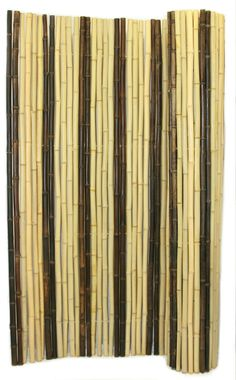 Retro Blend Bamboo Fencing is made from a unique blend of natural Tonkin bamboo and natural black bamboo that has been threaded and secured using galvanized steel wire and tightly pressed against one and other, allowing only the smallest crack of light between. Will work well as privacy fencing, and any other decorative purpose where a tropical theme is needed.
