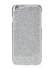 Limited Too Silver Glitterbomb Hardshell Case