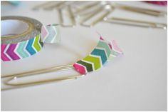 Arty's Getaway: DIY // 5 Minutes Crafts – Fun and Pretty Washi Tapes Bookmarks Saving a Shitty Day.