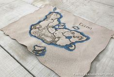 Adventure Map, Leather Craft, The Fosters, Reusable Tote Bags, Products, Leather Crafts, Gadget