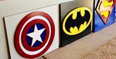 Cuadros superheroes