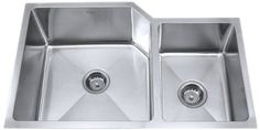 Kraus KHU123-32 32-Inch Undermount 70/30 Double Bowl 16 gauge Kitchen Sink, Stainless Steel by Kraus, http://www.amazon.com/dp/B0032C2NCG/ref=cm_sw_r_pi_dp_AtsLrb17JKCWZ